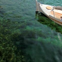 Пазл онлайн: Лодка на воде
