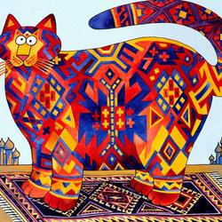 Пазл онлайн: Персидский кот