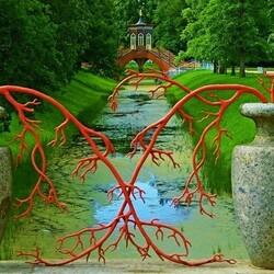 Пазл онлайн: В парке Царского Села