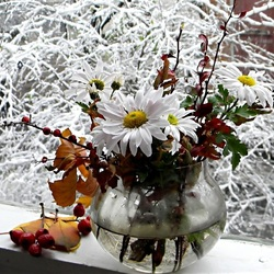Пазл онлайн: За окном зима