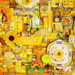 Пазл онлайн: Желтый