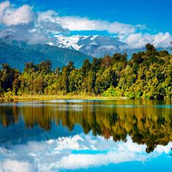 Пазл онлайн: Новая Зеландия
