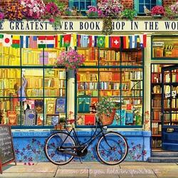 Пазл онлайн: Книжный магазин