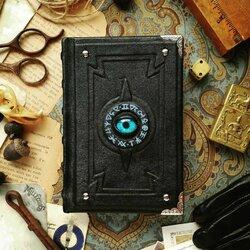 Пазл онлайн: Голубоглазая книга алхимика