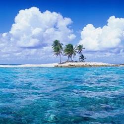 Пазл онлайн: Маленький островок