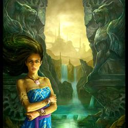 Пазл онлайн: Водопады Фавна