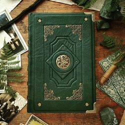 Пазл онлайн: Зелёный трискель