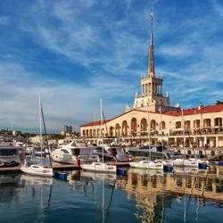 Пазл онлайн: Морской вокзал