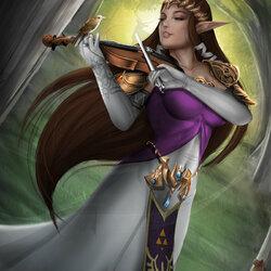 Пазл онлайн: Принцесса Зельда