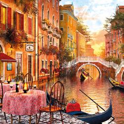 Пазл онлайн: Венеция на закате