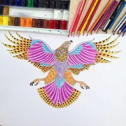 Пазл онлайн: Орел от Эдгара