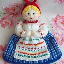 Пазл онлайн: Вязаная кукла