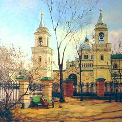 Пазл онлайн: Ивановская горка