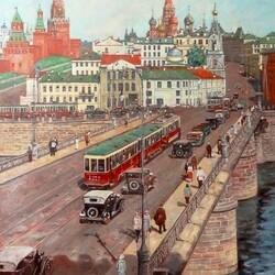 Пазл онлайн: Москворецкий мост