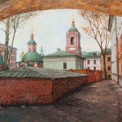 Пазл онлайн: Хитровский дворик