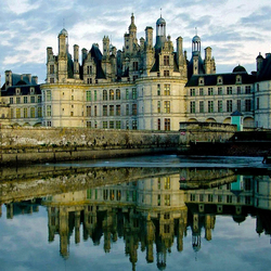 Пазл онлайн: Замок Шамбор