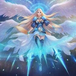 Пазл онлайн: Ледяная богиня