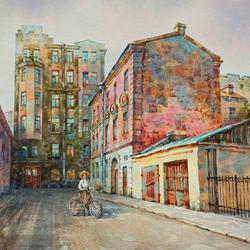 Пазл онлайн: Митавский переулок