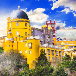 Пазл онлайн: Дворец Пена