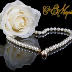 Пазл онлайн: Белая роза