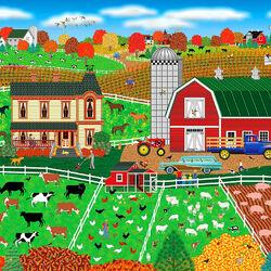 Пазл онлайн: Экскурсия на ферму