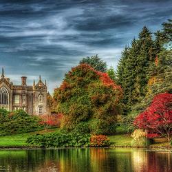 Пазл онлайн: Английский парк