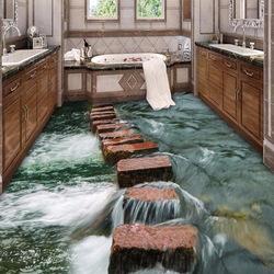 Пазл онлайн: Пол в ванной