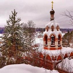 Пазл онлайн: Зимой в Подмосковье