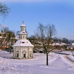 Пазл онлайн: Зима в Подмосковье