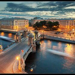 Пазл онлайн: Ломоносовский мост
