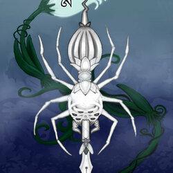Пазл онлайн: Алмазный паук