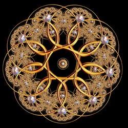 Пазл онлайн: Сферическая гипержемчужина
