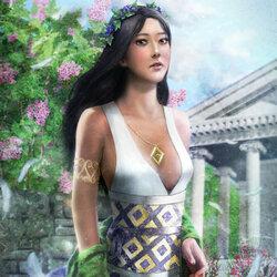 Пазл онлайн: Жрица храма забытого бога