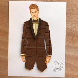 Пазл онлайн:  Шоколадный джентльмен