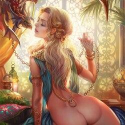 Пазл онлайн: Поцелуй дракона