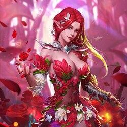 Пазл онлайн: Эльфийская принцесса