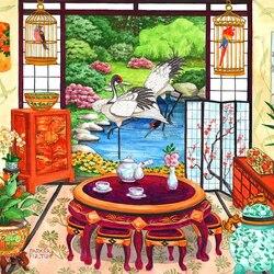 Пазл онлайн: Японская чайная