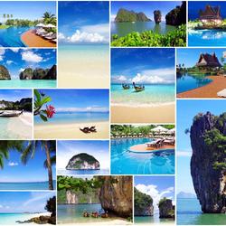 Пазл онлайн: Солнечный пляж