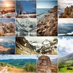 Пазл онлайн: Величие гор