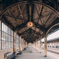 Пазл онлайн: Платформа Витебского вокзала