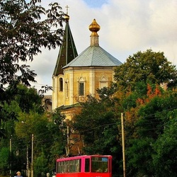 Пазл онлайн: Трамвайчик в Твери