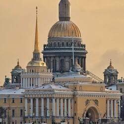 Пазл онлайн: Державный вид с Дворцового моста