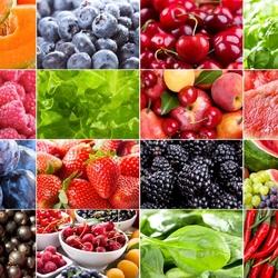 Пазл онлайн: Фруктово-ягодный