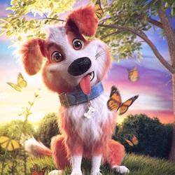 Пазл онлайн: Очаровательный щеночек