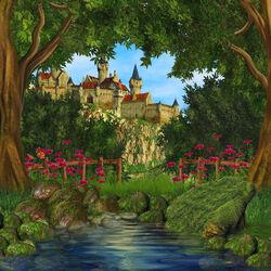 Пазл онлайн: Сказочный замок