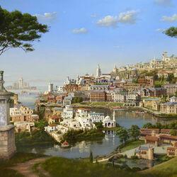 Пазл онлайн: Античный город