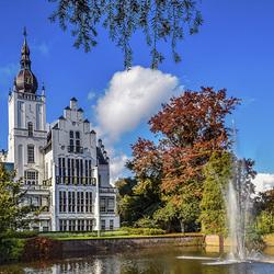 Пазл онлайн: Замок в Нидерландах