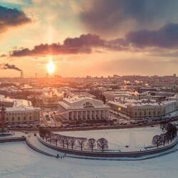 Пазл онлайн: Васильевский остров
