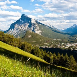 Пазл онлайн: Склон горы