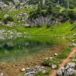 Пазл онлайн: Озерцо